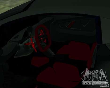 Lamborghini Sesto Elemento 2011 für GTA San Andreas rechten Ansicht