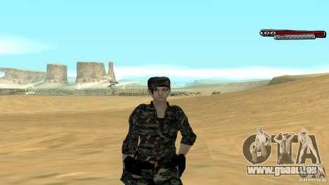 Soldat HD für GTA San Andreas