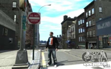 Jeans und ein T-shirt für Nico für GTA 4
