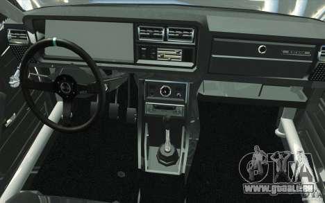 Dérive de Vaz Lada 2107 pour GTA San Andreas vue de dessus