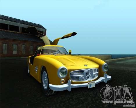 Mercedes Benz 300SL pour GTA San Andreas laissé vue