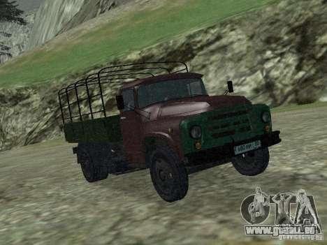 ZIL 130 à bord pour GTA San Andreas laissé vue