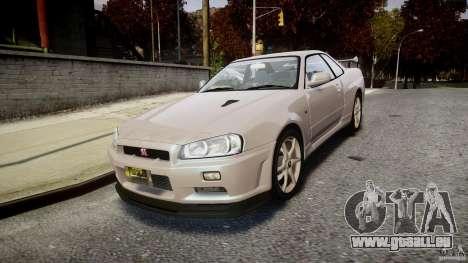 Nissan Skyline GT-R R34 2002 v1 für GTA 4