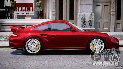 Posrche 911 GT2 für GTA 4 Seitenansicht