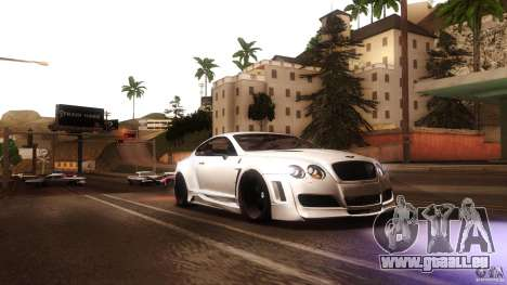Bentley Continental GT Premier4509 2008 Final für GTA San Andreas Rückansicht