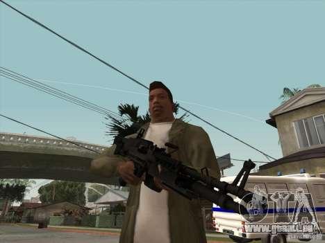 M60E4 für GTA San Andreas