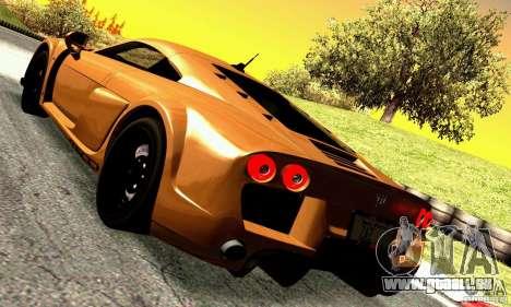 Noble M600 pour GTA San Andreas vue de droite