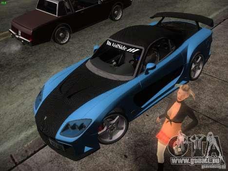 Mazda RX 7 Veil Side für GTA San Andreas linke Ansicht