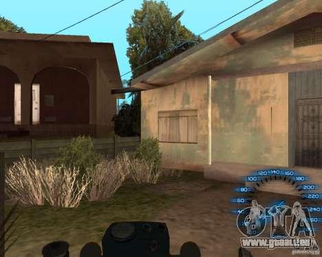Hinter dem Lenkrad für GTA San Andreas her Screenshot