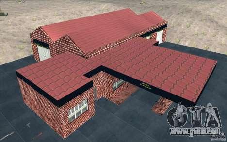 Neue Garage in Dorothy für GTA San Andreas fünften Screenshot