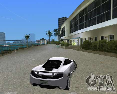 McLaren MP4-12c für GTA Vice City linke Ansicht