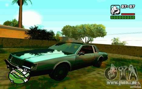 ENBSeries de Blaid pour GTA San Andreas deuxième écran