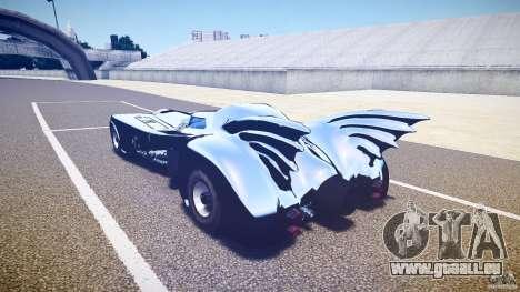 Batmobile v1.0 für GTA 4 rechte Ansicht