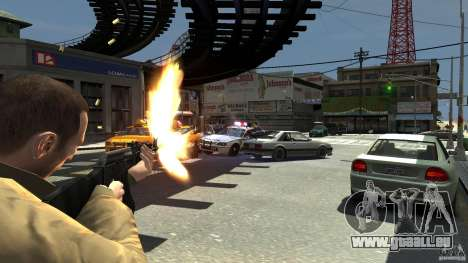 Red Army Mod (Realistic Weapon Mod) für GTA 4 weiter Screenshot