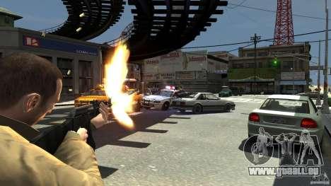 Red Army Mod (Realistic Weapon Mod) pour GTA 4 quatrième écran