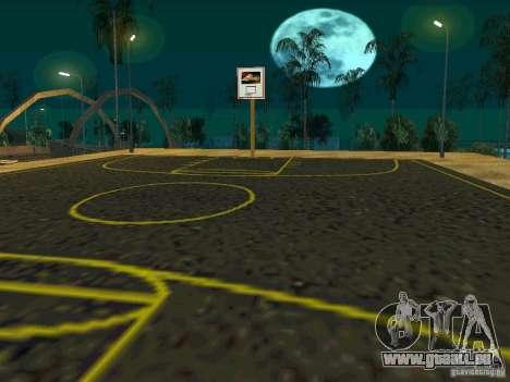 New basketball court pour GTA San Andreas quatrième écran