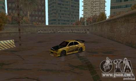 NFS Most Wanted - Paradise pour GTA San Andreas douzième écran
