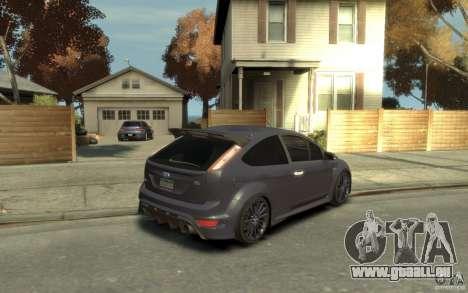 Ford Focus RS 2009 pour GTA 4 est un droit