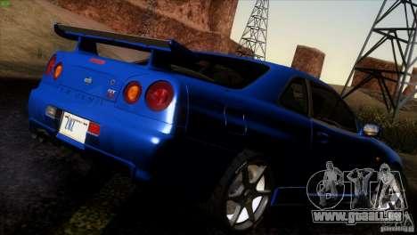 Nissan Skyline R34 Drift pour GTA San Andreas