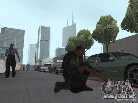 Springfield M1903 für GTA San Andreas her Screenshot
