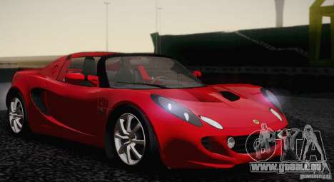 Lotus Elise 111s 2005 v1.0 für GTA San Andreas zurück linke Ansicht