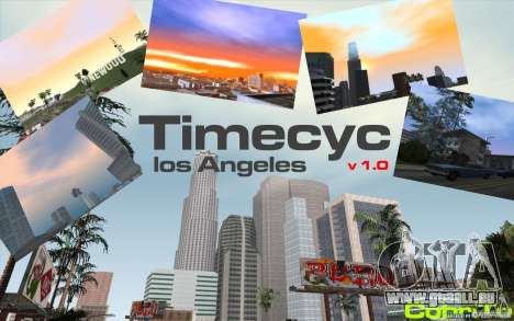 Timecyc Los Angeles pour GTA San Andreas