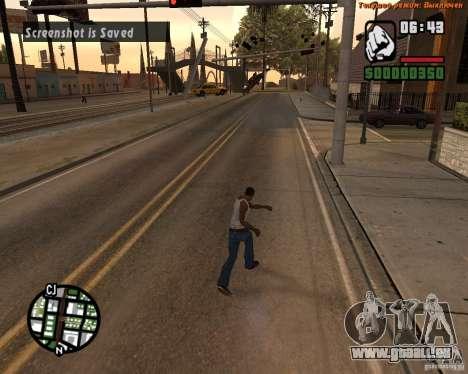 Super coup de pied pour GTA San Andreas