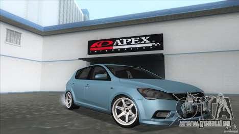 Kia Ceed 2011 pour GTA San Andreas vue de droite