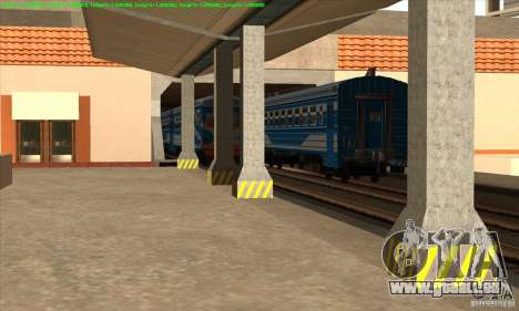 Augmentation de la circulation des trains pour GTA San Andreas troisième écran