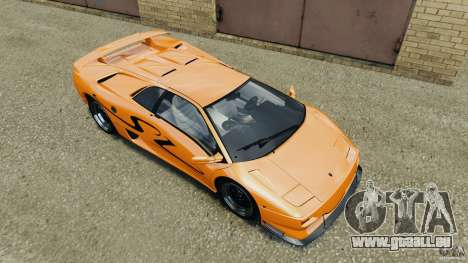 Lamborghini Diablo SV 1997 v4.0 [EPM] für GTA 4 Innen