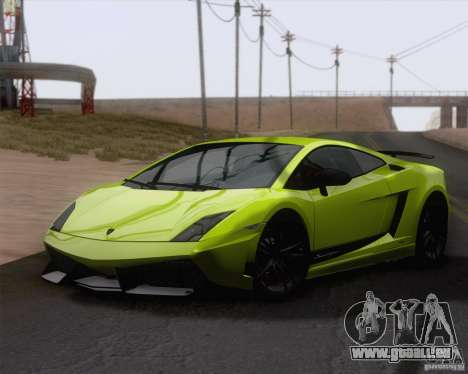 Lamborghini Gallardo LP570-4 Superleggera 2011 pour GTA San Andreas