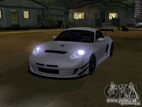 Porsche Cayman S NFS Shift pour GTA San Andreas laissé vue