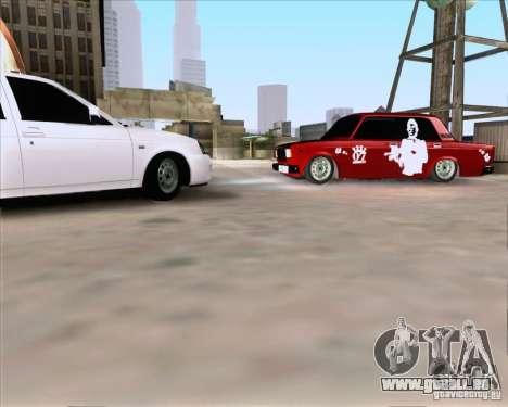VAZ 2107 Gangsta für GTA San Andreas linke Ansicht