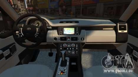Range Rover Supercharged für GTA 4 rechte Ansicht