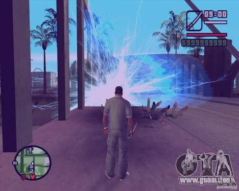 Chidory Mod pour GTA San Andreas deuxième écran