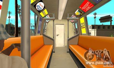 Liberty City Train GTA3 pour GTA San Andreas vue de droite