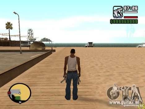 Ändern Sie das Zoom-radar für GTA San Andreas dritten Screenshot