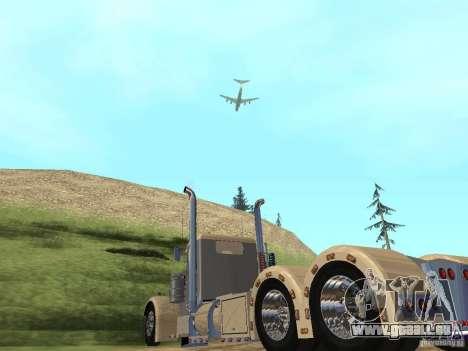 Pimped Peterbilt 381 für GTA San Andreas rechten Ansicht