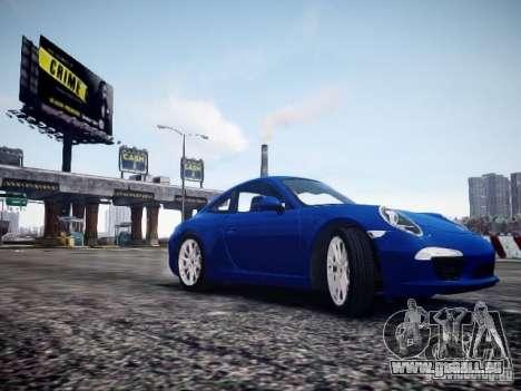 Porsche 911 Carrera S 2012 pour GTA 4 est un droit
