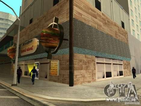 Neue Burgershot: Golden ČajničeG für GTA San Andreas zweiten Screenshot