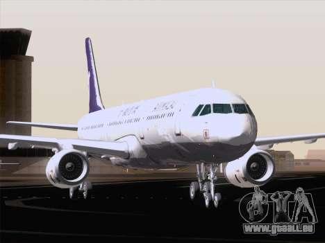 Airbus A321 Air Macau für GTA San Andreas Unteransicht