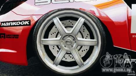 Scion TC Fredric Aasbo Team NFS pour GTA 4 Vue arrière