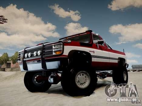 Rancher XL 3.0 pour GTA 4 est un droit