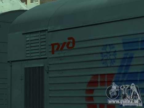 Auto Kühlschrank für GTA San Andreas rechten Ansicht