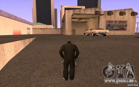 Toutes les machines sont peintes + personnes ent pour GTA San Andreas troisième écran