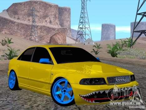 Audi S4 DatShark 2000 pour GTA San Andreas vue intérieure