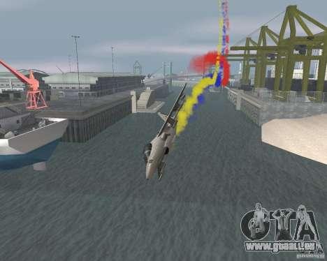 Bunt Streifen für Flugzeuge für GTA San Andreas fünften Screenshot