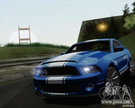 Ford Shelby GT500 Super Snake 2011 für GTA San Andreas