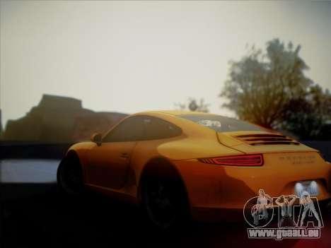 Porsche 911 (991) Carrera S pour GTA San Andreas vue arrière