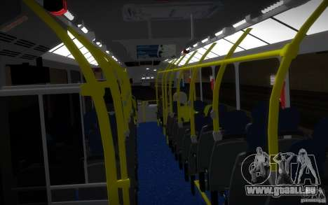 Marcopolo Viale BRT 0500M pour GTA San Andreas vue intérieure